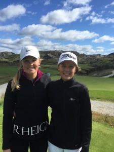 Søstrene Caroline og Ida Berge ble klubbmestere etter solid spill