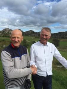 Åge Sørensen og Torbjørn Lunde